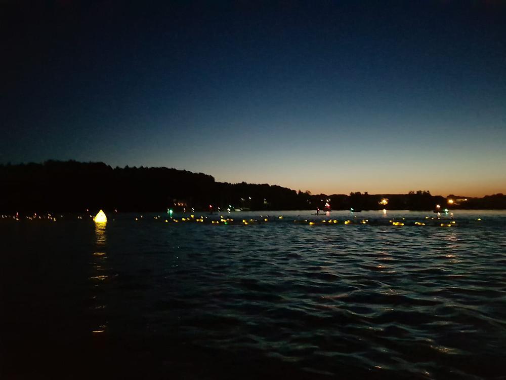 Chiemsee Vollmondschwimmen 2019