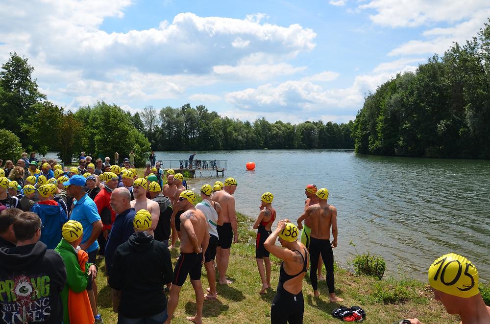 Freiwassercup Bayern im Friedenhain See