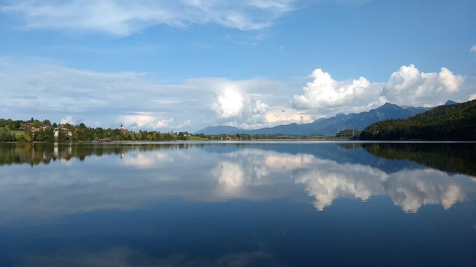 Open Water Schwimmen am Weißensee