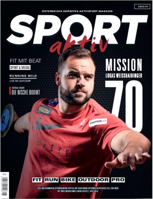 SPORT aktiv Cover Juni/Juli 2019