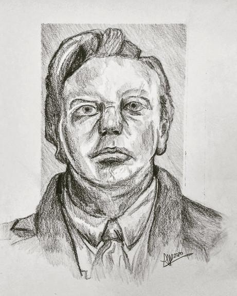 John Logie-Baird Bust Study