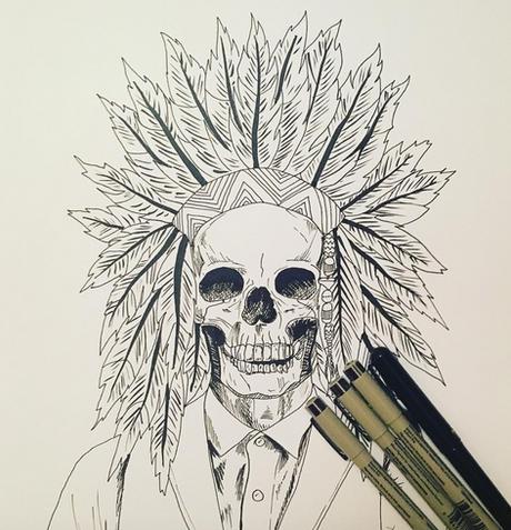Head Dress Skull