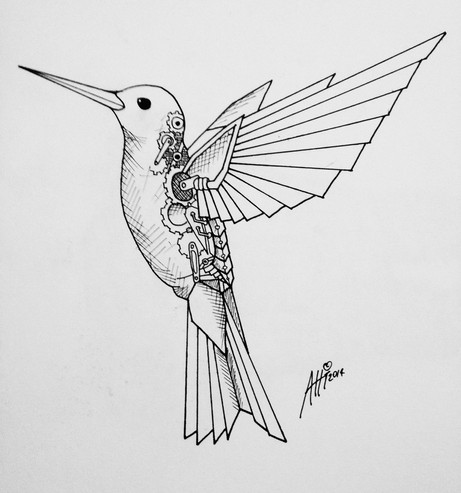 Clockwork Hummingbird