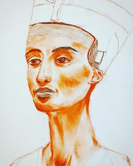 Nefertiti Bust Study