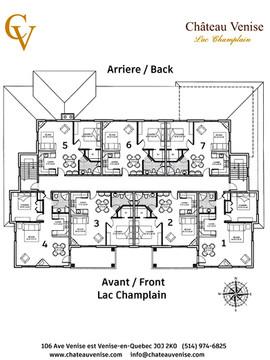 Château Venise - Lac Champlain Venise-en-Québec