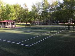 Tennis - Château Venise - Lac Champlain - Venise-en-Québec