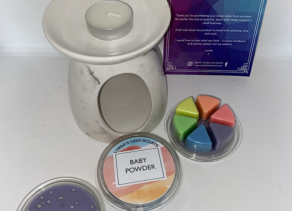 Rainbow 6 cell wax melts