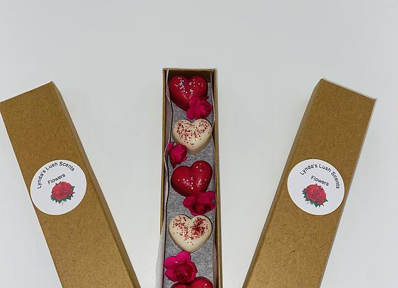 Loveheart Wax Melts Boxed