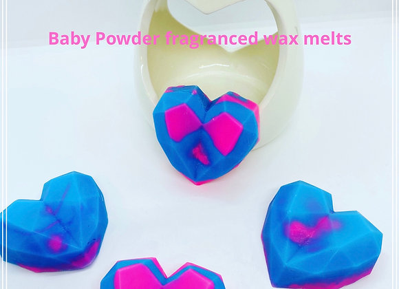 Large 3D Loveheart  wax melts