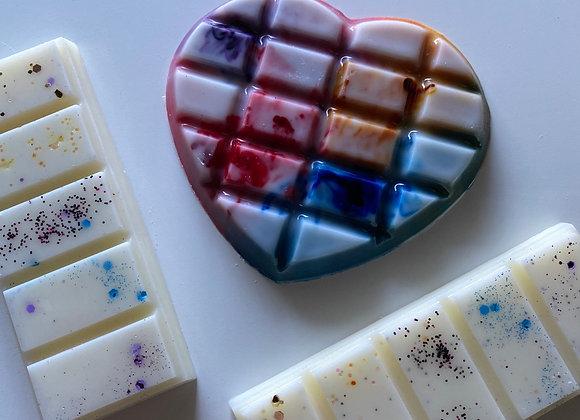 Love heart Soy Wax Snap Bars