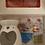 Thumbnail: Tea-light burner and wax melt gift set