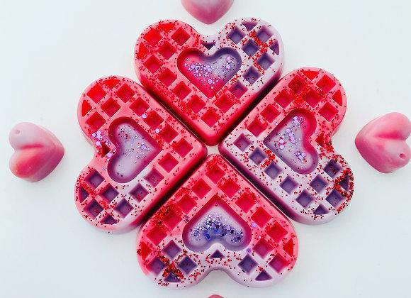 Bakery themed waffle snap bars