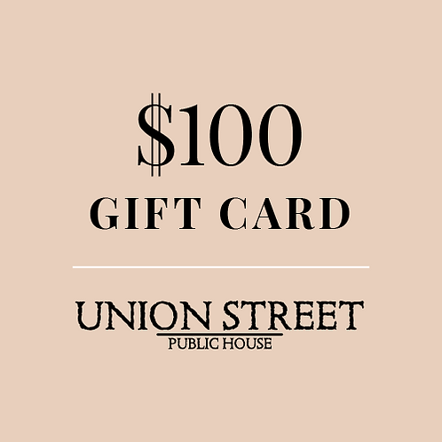 $100 USPH Gift Card