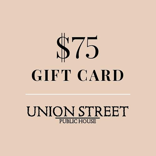 $75 USPH Gift Card