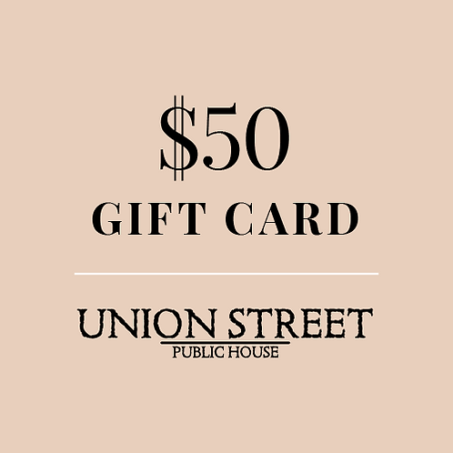 $50 USPH Gift Card