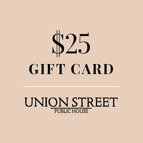 $25 USPH Gift Card