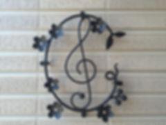 長竹音楽教室の玄関