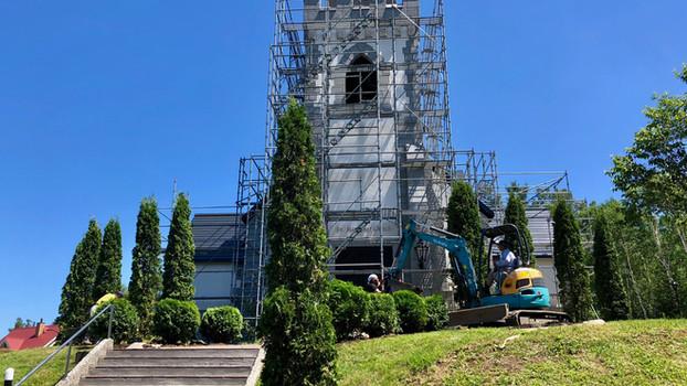 深川教会 樹木提案植栽