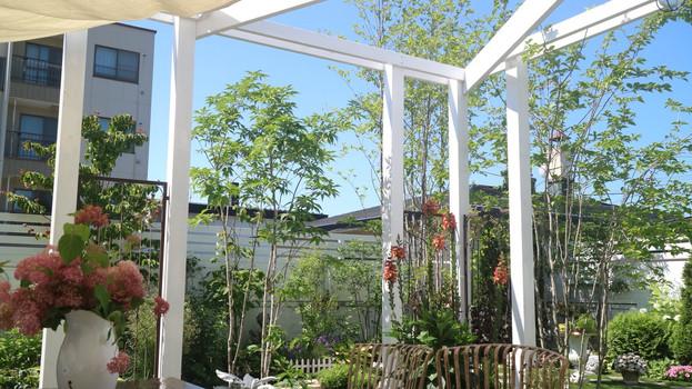 個人宅ガーデン施工