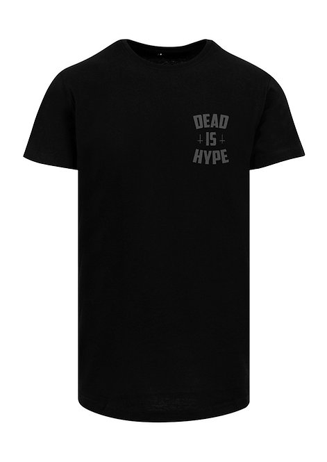 Dead is Hype Long Tee - BlackOnBlack