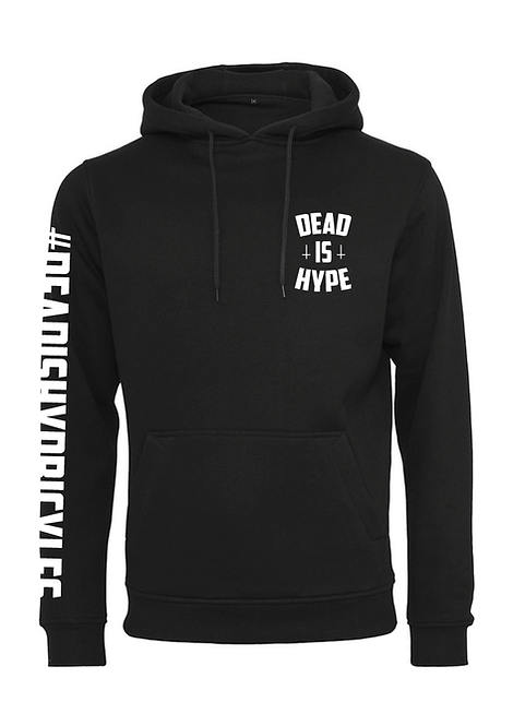 sweat dead is hype bicycle black skull DH