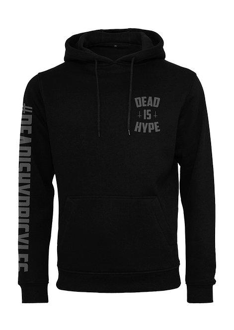 Dead is Hype Hoodies - BlackOnBlack