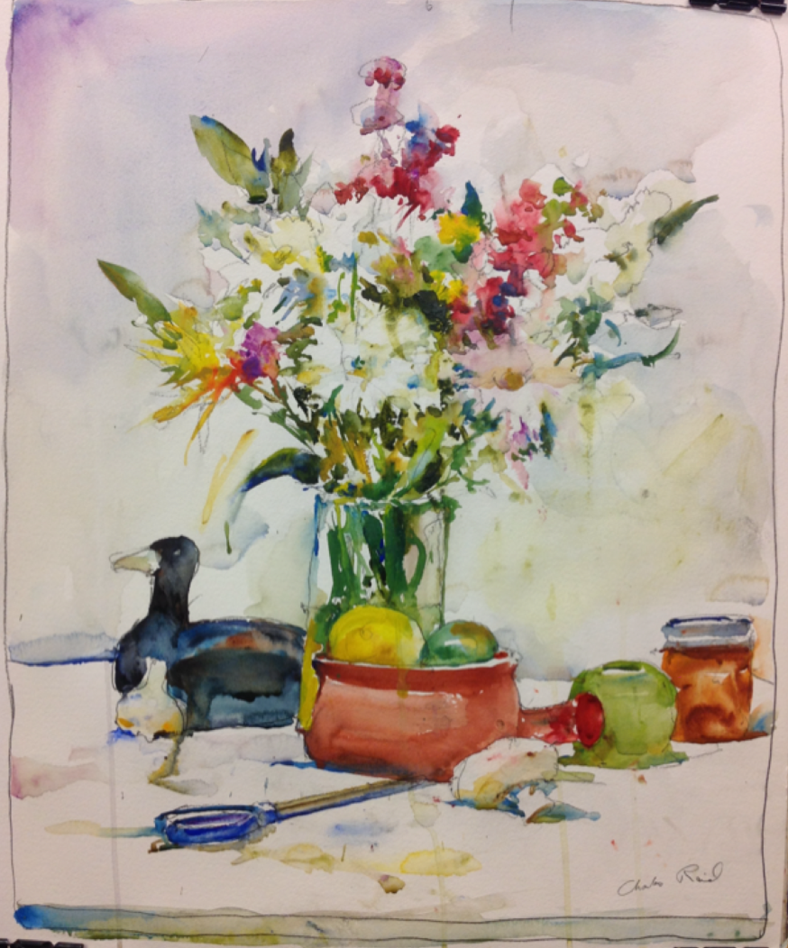 Still Life by Charles Reid- Day 1