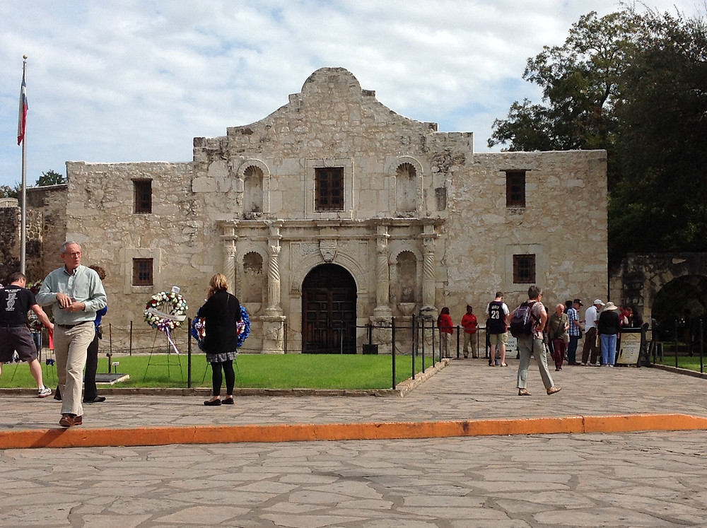 Picture of the Alamo