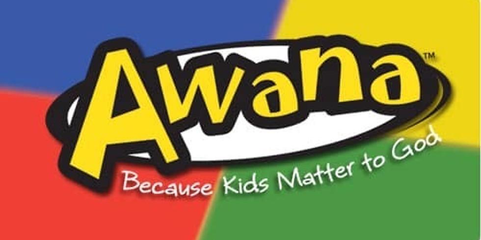 AWANA is Starting October 7, 2020!