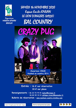 MADISON COUNTRY BRIOLLAY - Affiche bal a