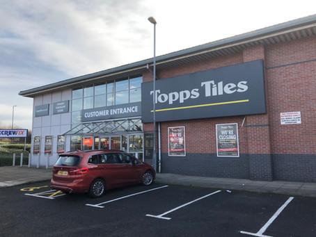 Topps Tiles repositions their store portfolio