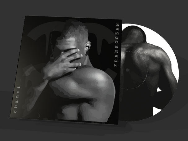 Frank Ocean Chanel Vinyl Cover and Disk.
