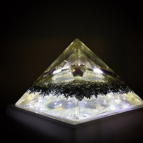 Yellow Reiki Pyramid
