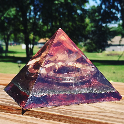 Red Quarts Pyramid