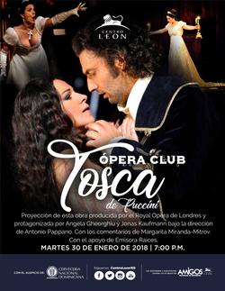 Arte Tosca de Puccini