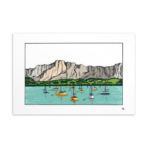 Postkarte Mondsee