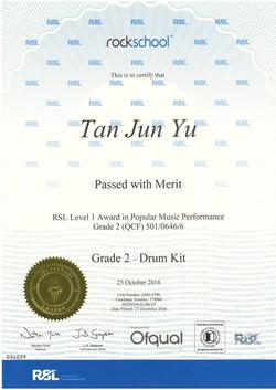 陳俊宇 DRUM G2 Merit