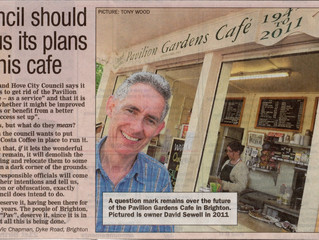 Council should tell us its plans for this cafe