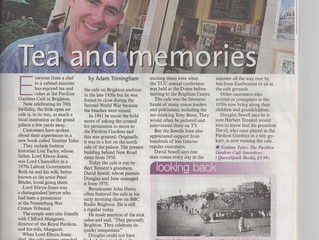 A lovely article by Adam Trimingham June 11th 2011 which helps sum up the cafe heritage and its plac