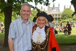 David & Mayor Denise Cobb.jpg