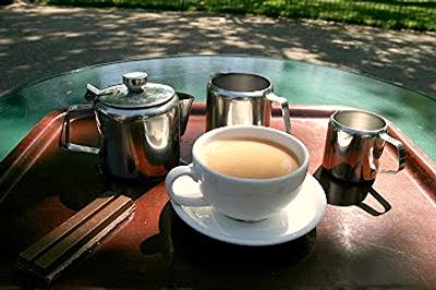 Tea at the Pavilion Gardens Café