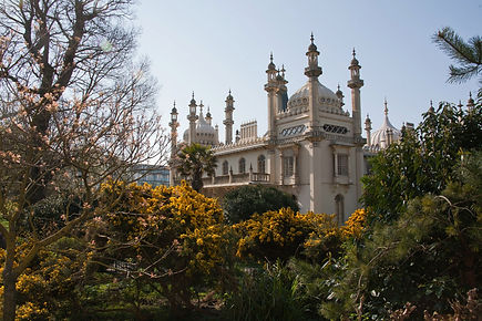 The Royal Pavilion, Brighton, United Kingdom.
