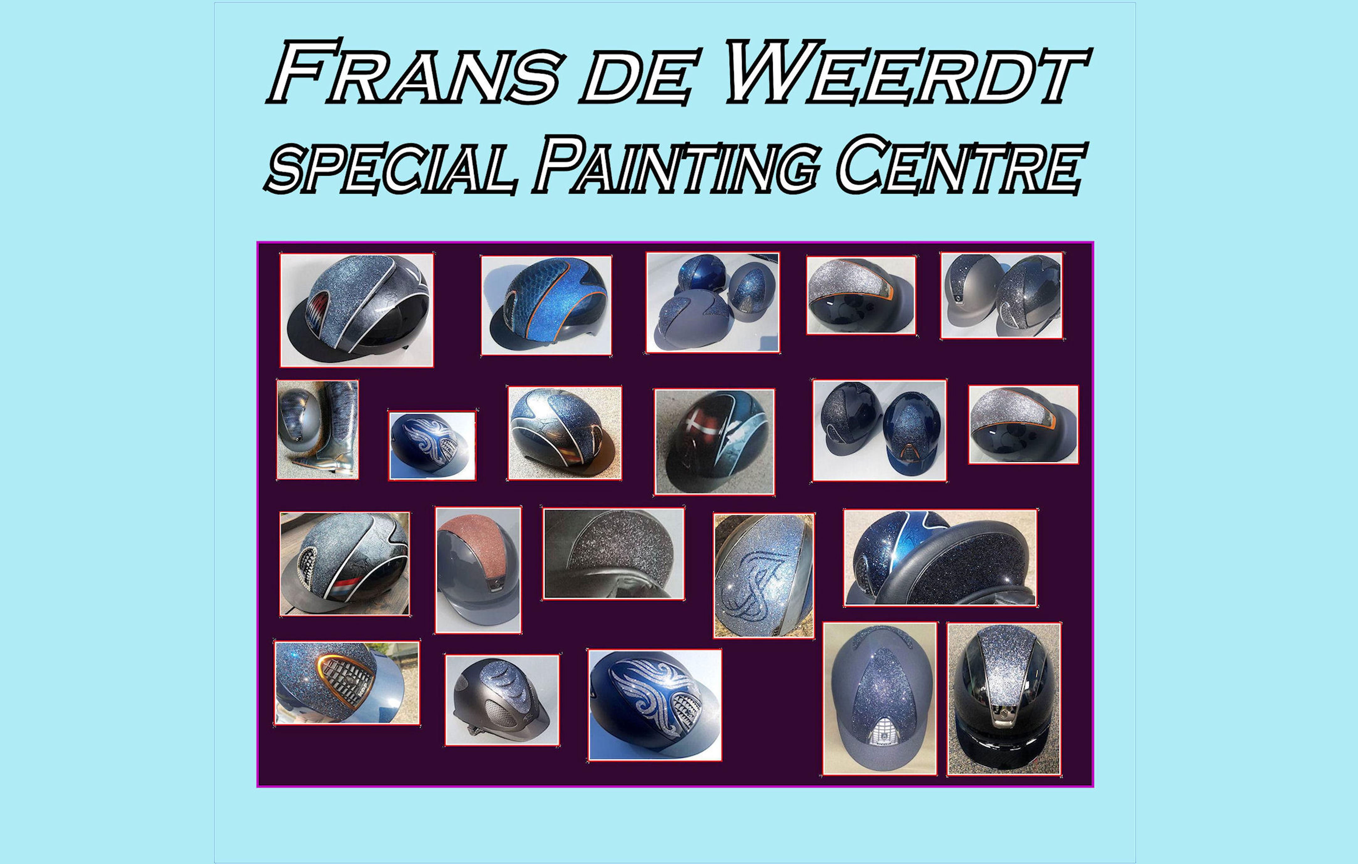 Website Frans van de Weert