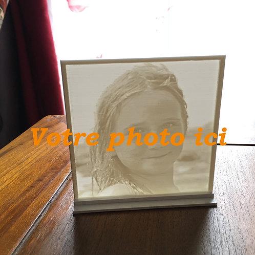 Cadre Photo 3D à personnaliser - CADEAU 3D