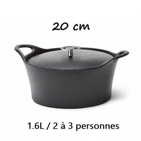 PROMOTION : COCOTTES EN FONTE EMAILLEESE - 29 cm