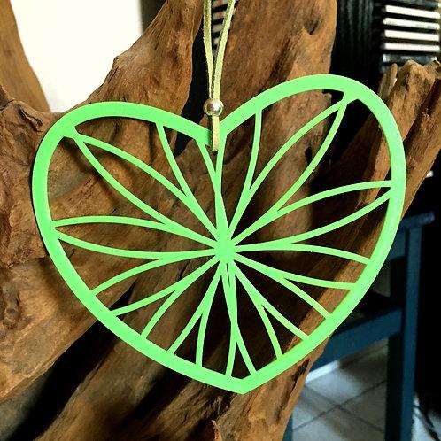 Attrape rêve coeur à personnaliser - CADEAU 3D