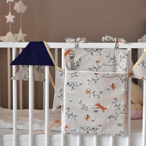 Coffret Tea Time – Range-pyjama et Guirlande fanions