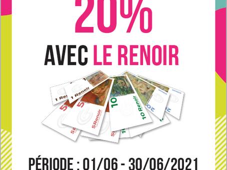🚨 Opération Spéciale : 20% de pouvoir d'achat en plus avec la Monnaie Cagnoise !