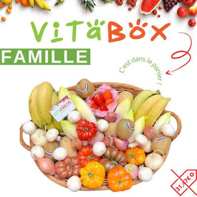 Vitaboxe Famille -VITAFRUITS