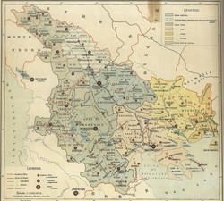 1908 Italian Map
